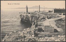 Strait Of Gibraltar, C.1910s - Cumbo Postcard - Gibraltar