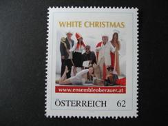 Personalisierte Marke Postfrisch, White Christmas - Österreich
