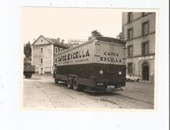 TULLE (CORREZE) BELLE PHOTO LIVRAISON PAR CAMION CAFES EXCELLA BORDEAUX A L'ECOLE MILITAIRE PREPARATOIRE TECHNIQUE - Lieux