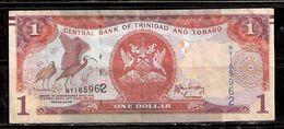 0309012 TRINIDAD AND TOBAGO $1.00 NOTE -- USED - Trinidad & Tobago