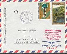 NOUVELLES CALEDONIES Lettre De NOUMEA Du 30 / 10 /1973 - Nuova Caledonia