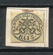 Estados Pontifícados_1852-1864_Escudo De Armas_Yvert Nº 4 - Etats Pontificaux
