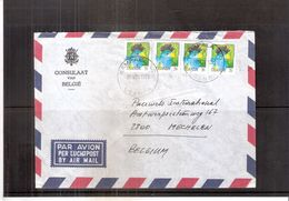 Lettre Du Consulat De Belgique à Kampala Vers Belgium - 1995 - Ouganda (1962-...)