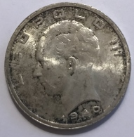 Pièce Monnaie. Léopold III. 50 Francs. 1940. Argent 20 Gr. - Monnaies