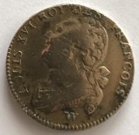 Pièce De Monnaie. France. Louis XVI. Roi De François. 1793. Bronze. 12 Gr - Monnaies