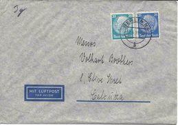BERLIN 19.06.1939 LUFTPOST BRIEF NACH CALCUTTA INDES, INDIA, DEUTSCHLAND, ALLEMAGNE, Lettre Poste Aérienne - Deutschland