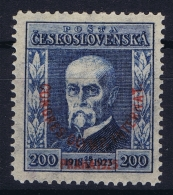 Ceskoslovenko : Mi  211 MH/* Flz/ Charniere  1925 - Tschechoslowakei/CSSR