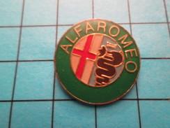 Pin1216a Pin's Pins / Beau Et Rare / AUTOMOBILES / LOGO DE LA MARQUE ALFA ROMEO - Alfa Romeo