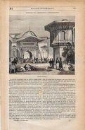 Revue Magasin Pittoresque Turquie Turkey Turc Octobre 1844 - 1800 - 1849