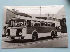 1 1/2 - Decker OMNIBUS 305 : Krupp Baujahr 1957 ( Fotokaart ) Essener Verkehrs-AG ( Zie Foto Voor Details ) ! - Bus & Autocars