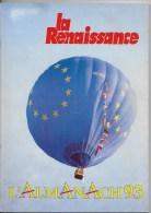 LA RENAISSANCE,almanach 1993 - Livres, BD, Revues