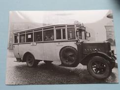 OMNIBUS 10 : Büssing Baujahr 1925 ( Fotokaart ) Essener Verkehrs-AG ( Zie Foto Voor Details ) ! - Bus & Autocars