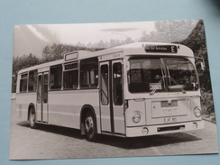 OMNIBUS 3851 : Baujahr 1974 ( Fotokaart ) Essener Verkehrs-AG ( Zie Foto Voor Details ) ! - Bus & Autocars