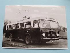 OBERLEITUNGSBUS Baujahr 1948 ( Fotokaart ) ( Zie Foto Voor Details ) ! - Bus & Autocars