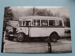 KRAFTOMNIBUS Baujahr 1933/34 ( Fotokaart ) ( Zie Foto Voor Details ) ! - Bus & Autocars