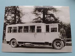 KRAFTOMNIBUS Baujahr 1923/24 ( Fotokaart ) ( Zie Foto Voor Details ) ! - Bus & Autocars