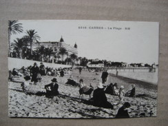 ALPES MARITIMES  06    CANNES   -  LA PLAGE      TRES  ANIME    TTB - Cannes
