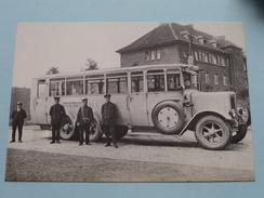 AUTOBUS Der Kreis-Ruhrorter-Strassenbahn 1926 ( Fotokaart ) ( Zie Foto Voor Details ) ! - Busse & Reisebusse