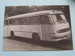 AUTOBUS Nr. 83 : Daimler Benz / Baujahr 1955 ( Fotokaart ) ( Zie Foto Voor Details ) ! - Busse & Reisebusse