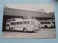 1 1/2 - Decker Nr. 80 : Büssing 6500 T / Baujahr 1955 ( Fotokaart ) ( Zie Foto Voor Details ) ! - Bus & Autocars