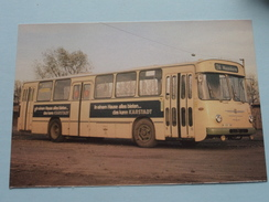 BÜSSING PRÄSIDENT Baujahr 1967 : Linieomnibusse ( Fotokaart ) ( Zie Foto Voor Details ) ! - Bus & Autocars