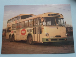 1 1/2 DECK BUS TU 7 V. : Baujahr 1963 : Linieomnibusse ( Fotokaart ) ( Zie Foto Voor Details ) ! - Bus & Autocars