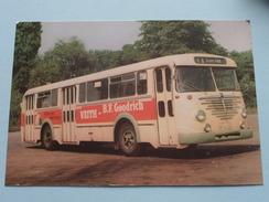 BÜSSING TU 11 : Baujahr 1956 : Linieomnibusse ( Fotokaart ) ( Zie Foto Voor Details ) ! - Bus & Autocars