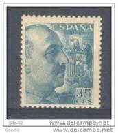 ES1050-A850.España.Spain Espagne CID Y GENERAL FRANCO 1949/53.(Ed 1050**) Sin Charnela LUJO. - 1931-50 Nuevos & Fijasellos