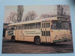 MAGIRUS SATURN III MS : Baujahr 1964 : Linieomnibusse ( Fotokaart ) ( Zie Foto Voor Details ) ! - Bus & Autocars