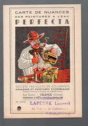 CARTE DES NUANCES Peintures Perfecta (PPP6243) - Publicités