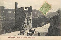 -ref  V804- Luxembourg - Luxemburg - Ruine Du Chateau Sur Le Bock - Carte Bon Etat  - - Unclassified