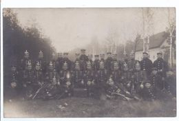 Fotokarte  - Soldatengruppe Mit Pickelhauben   **19870** - Personnages