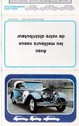 Calendrier 1978 Automobile,traction Rolls Royce De 1923 (a L'intérieur Code De La Route Signalisation) - Calendars