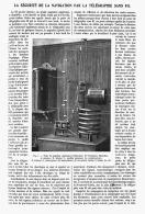 LA SECURITE DE LA NAVIGATION PAR LE TELEGRAPHE SANS FIL  1909 - Non Classés
