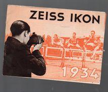 Livret Catalogue (photo) ZEISS IKON 1934 (PPP6247) - Livres, BD, Revues