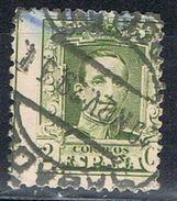 Sello  2 Cts Alfonso XIII Vaquer, Variedad Descentrado, Fechador SABADELL (Barcelona) Num 310 º - 1889-1931 Royaume: Alphonse XIII