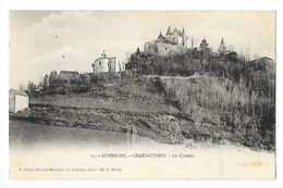 CHATEAUNEUF-les-BAINS  (cpa 63)  Le Château  -    - L 1 - France