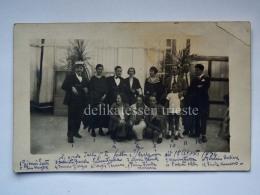 PIRANO ISTRIA Famiglia Piranese In Gita A Venezia 1924 Slovenia Slovenija AK Vecchia Cartolina - Slovenia