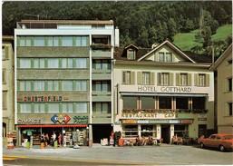 Cigarrenhaus Franz Indergand-Sigrist Flüelen - Ansichtskarten