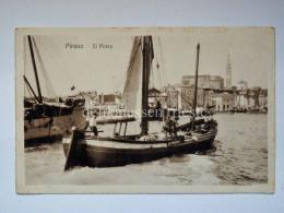 PIRANO ISTRIA Barche Vela Pesca Slovenia Slovenija AK Vecchia Cartolina Bartolomei 96086 - Slovenia