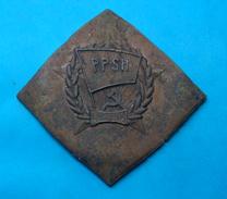 ALBANIA MODEL OF MEDAL *PPSH*, SPECIMEN, VERY RARE OR UNIQUE - Médailles & Décorations