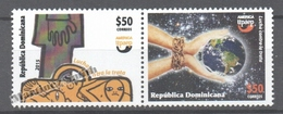 Dominican Republic 2015 Yvert 1895-96, America UPAEP. Fight Against Trafficking In Human Beings, MNH - República Dominicana