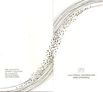 Pochette  2  Volets   (  Hostellerie  Des  Frères  Ibarboure    )  64  Bidart - Guetary   -  1 * Michelin - Menus