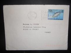 Iles Vierges Britaniques , Lettre De Road Town 2002 Pour Le Pradet - British Virgin Islands