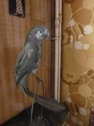 Pièce Unique Artisanale En Métal - Perroquet  Parrot Oiseau - Ironwork