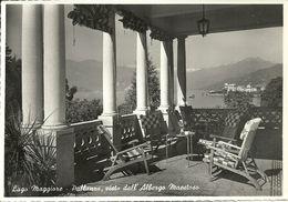 Pallanza (Verbano, Piemonte) Lago Maggiore, Pallanza Vista Dall'Albergo Maestoso - Verbania