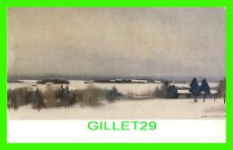 FINLANDE -  EERO NELIMARKKA - TALVIPAIVA ALAJARVELTA 1962 - DIMENSION 11 X 17.5 Cm - PETIT OY - - Finlande