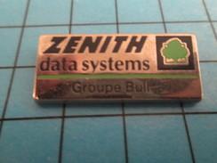 Pin313e Pin's Pins / Beau Et Rare / INFORMATIQUE / ZENITH DATA SYSTEMS GROUPE BULL - Informatique