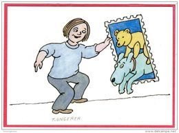 Carte Postale Dessinée Par  Tomi Ungerer - Entertainers