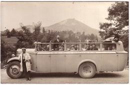 Carte Photo D'un Autobus - Voyage Lourdes - Gavarnie - Lourdes